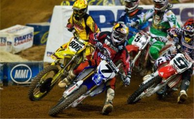 2009 - AMA Supercross - photo by Simon Cudby
