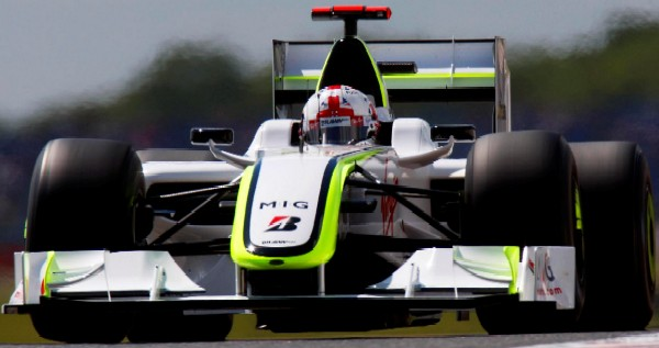 2009 - Jenson Button - Brawn - Formula 1 - ? Brawn GP