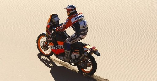 2009 - Marc Coma - KTM - Dakar Rally - � KTM - photo by Chaco A.
