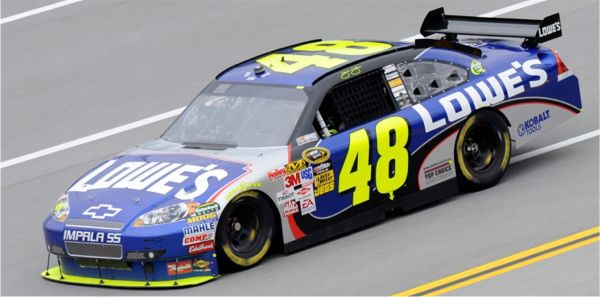 2009 - Jimmie Johnson - Chevrolet - NASCAR Sprint Cup - © NASCAR - photo by John Harrelson, Getty Images for NASCAR