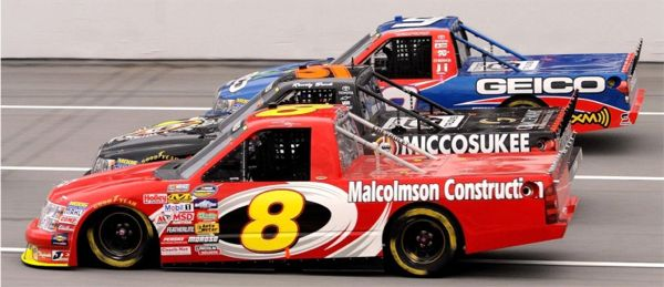 nascar truck series drivers 2003