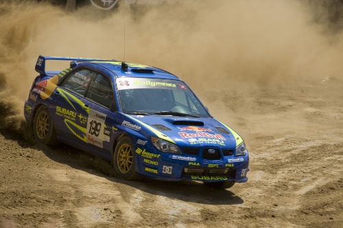 2007 - Travis Pastrana - Subaru - X Games - © Red Bull - photo by Christian Pondella