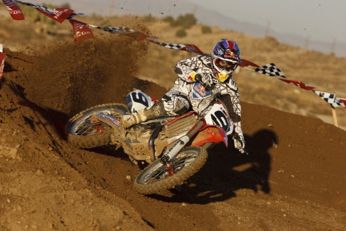 2009 - Ivan Tedesco - Honda - AMA Motocross - � Red Bull - photo by Simon Cudby