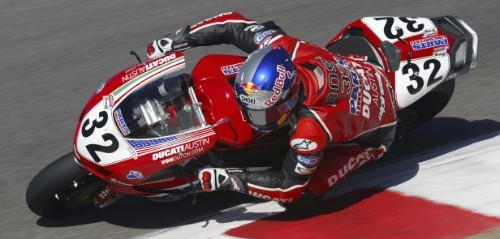 2005 - Eric Bostrom - Ducati - AMA Superbike - � Red Bull - photo by Andrew Northcott